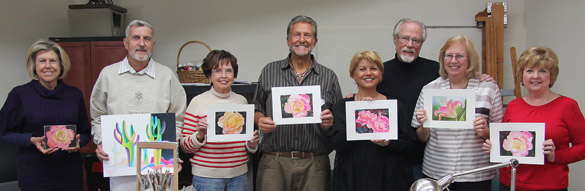 Richard Drayton Drawing Classes at Sedona Art Center