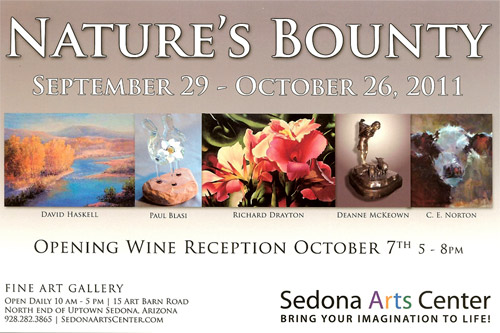 Nature's Bounty Show at Sedona Arts Center